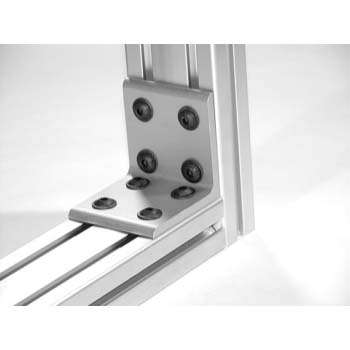 10 S / 25 S 8 Hole Inside Corner Bracket