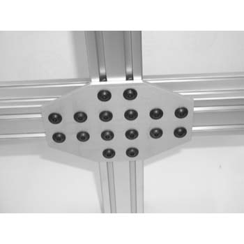 10 S / 25 S 16 Hole Crossing Joining Plate