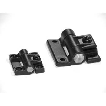 10 S / 25 S Black Adjustable Hinge