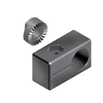 Fastener for sensor mounting block, slot 10, nylon