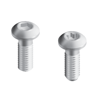 Steel Connecting Screw,Hexagon Socket, M 12 x 30