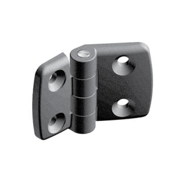 Plastic combi hinge 40x45, non-detachable