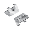 Roll-in T-slot Nut stepped 10, M4, 14x5,2, shaft 9,9x1,5, l=19mm, with spring-leaf
