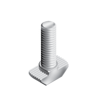 Hammer Screw M6x20mm, slot 8, hight 1,5mm, steel