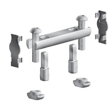 Bolt connector for profile 45, slot 10