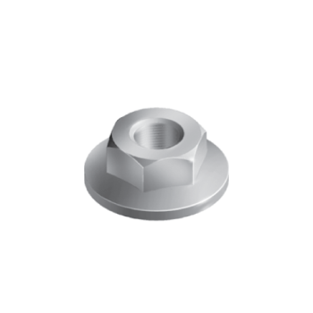 Flange nut �21,0mm, M8