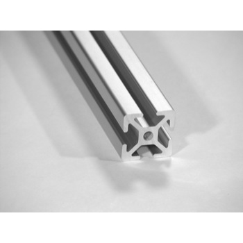 "1"" X 1"" T-Slotted Aluminum Framing Extrusion"