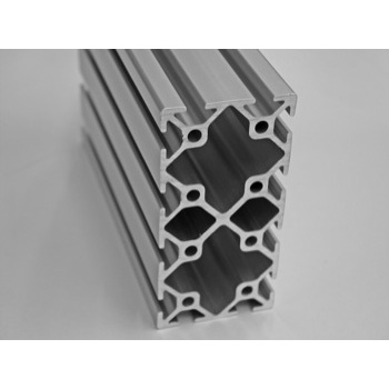 "2"" X 4"" T-Slotted Aluminum Framing Extrusion"