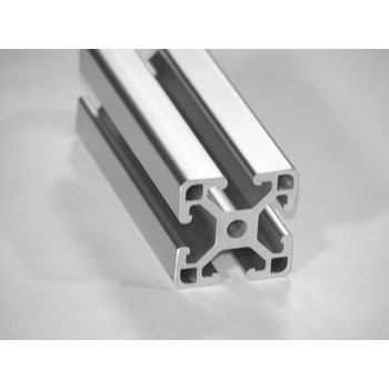 "1.5"" X 1.5"" Lite T-Slotted Aluminum Framing Extrusion"