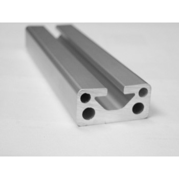 "1.5"" x .75"" Single Slot T-Slotted Aluminum Framing Extrusion"