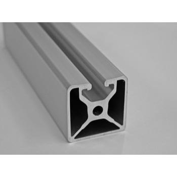 "1.5"" X 1.5"" Mono Slot T-Slotted Aluminum Framing Extrusion AluFab"