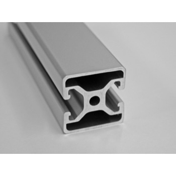"""1.5"""" by 1.5"""" Bi Slot Opposite T-Slotted Aluminum Framing Extrusion AluFab"""