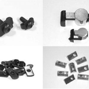Aluminum Extrusion Fasteners
