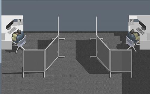 Aluminum Partition Walls