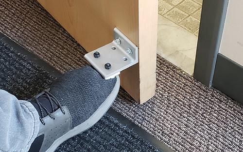 Aluminum Foot Door Openers