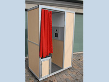 Aluminum Photo Booth